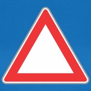Road Sign Up triangle - Women's T-Shirt