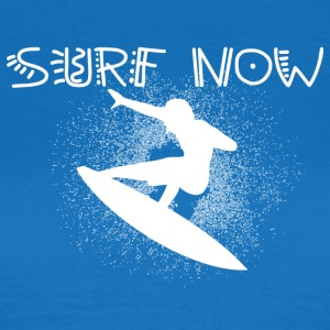 surf now 6 white - Women's T-Shirt