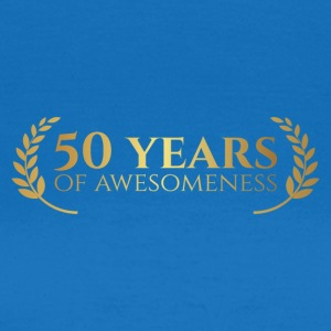 50th Anniversary: ​​50 Years of awesomeness - Women's T-Shirt