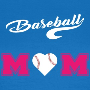 baseball Mom3 - T-skjorte for kvinner