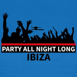 IBIZA - Party All Night Long - Women's T-Shirt