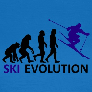 ++Ski Evolution++ - Frauen T-Shirt