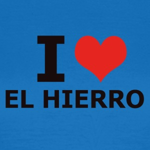 I LOVE EL HIERRO - Women's T-Shirt