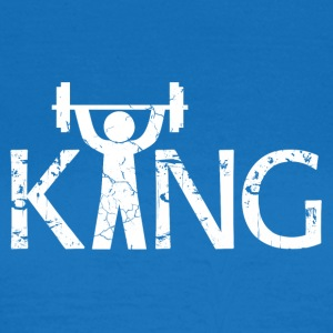 King of the Gym - T-skjorte for kvinner