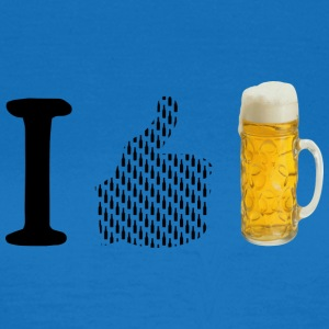 I like beer - Women's T-Shirt