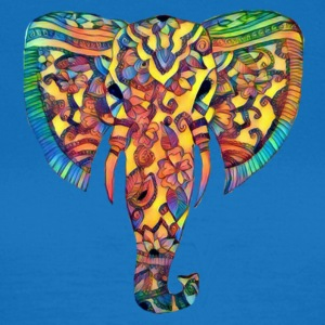 Colorful elephant head - Women's T-Shirt