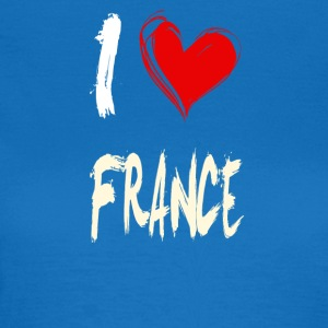 I love france - Frauen T-Shirt