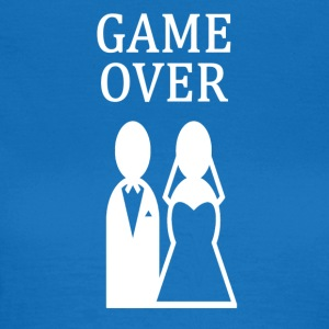 ++ ++ GAME OVER - T-skjorte for kvinner