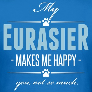 My Eurasier makes me happy - Women's T-Shirt