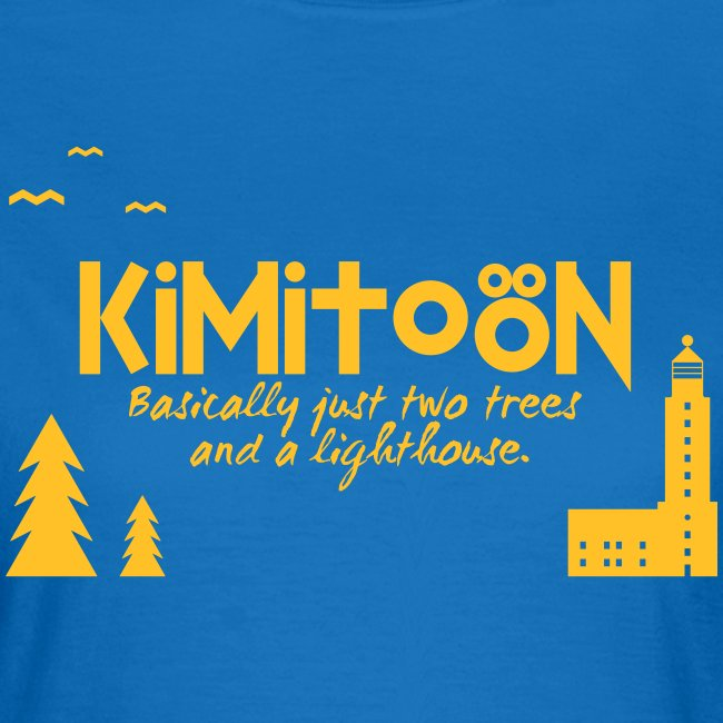 Kimitoön: two trees and a lighthouse