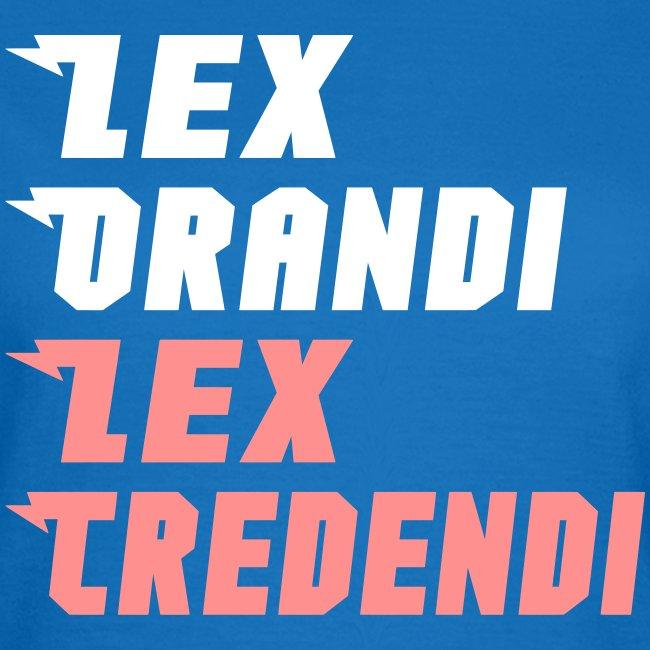 LEX ORANDI LEX CREDENDI
