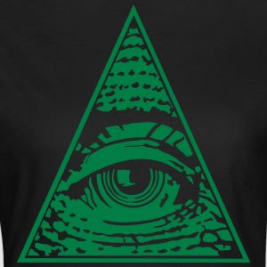 Eye of Providence - Dame-T-shirt
