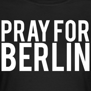 Pray for Berlin. Beds for Berlin - Women's T-Shirt