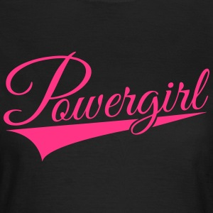 Powergirl03 - Frauen T-Shirt