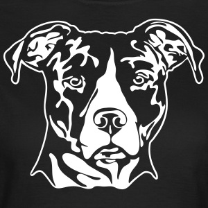 American Staffordshire PORTRET - Vrouwen T-shirt