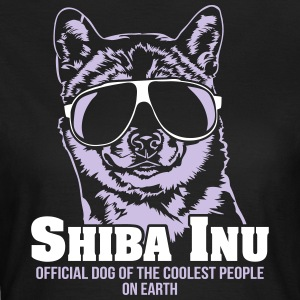 Shiba Inu coolest people - Women's T-Shirt