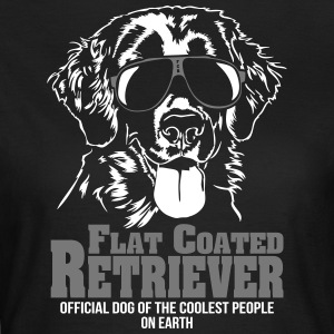 Flat Coated Retriever Coolest people - Frauen T-Shirt