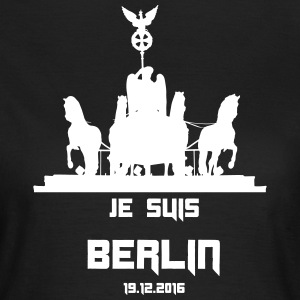 JE SUIS BERLIN 19.12.2016 - Frauen T-Shirt
