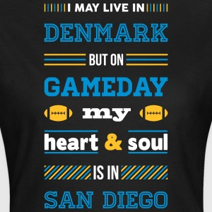 I may live in Denmark... (San Diego edition) - Dame-T-shirt