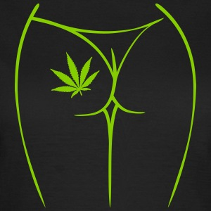 083 weed bud - Vrouwen T-shirt