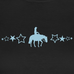 Pleasure Horse with stars - Women's T-Shirt