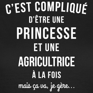 tee shirt Agricultrice pas cher - T-shirt Femme
