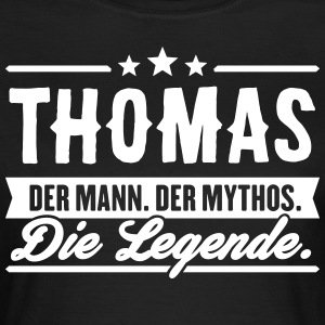 Man Myth Legend Thomas - T-shirt dam