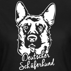 GERMAN SHEPHERD PORTRAIT - Women's T-Shirt