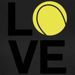 tennis_love - T-skjorte for kvinner