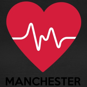 Heart Manchester - Women's T-Shirt