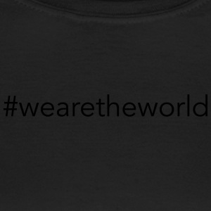 #wearetheworld - Dame-T-shirt