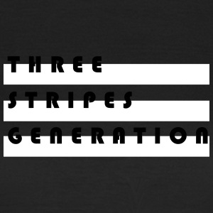 Tre striber generation - Dame-T-shirt