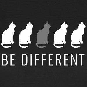 Cats - Be Different - Vrouwen T-shirt