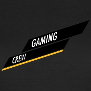Gaming Crew bar Design - Dame-T-shirt