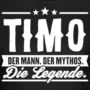 Man Myth Legend Timo - T-skjorte for kvinner