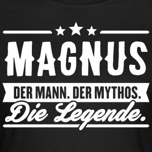 Man Myte Legend Magnus - Dame-T-shirt