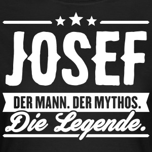 Man Myth Legend Josef - Women's T-Shirt
