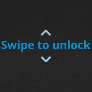 Swipe to unlock - Frauen T-Shirt