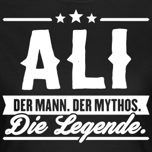 Mann Mythos Legende Ali - Frauen T-Shirt