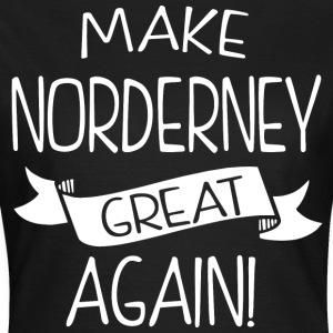 Make Norderney great again - Women's T-Shirt