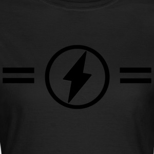 Lightning with stripes - Women's T-Shirt