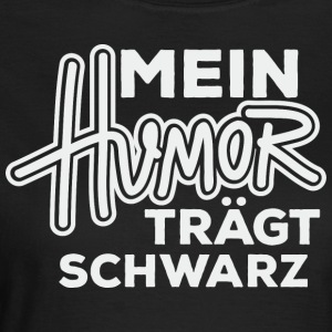 Humor sort - Dame-T-shirt