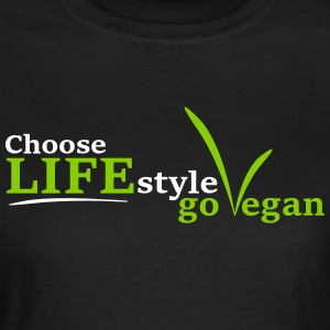 Vegan Lifestyle - T-shirt dam