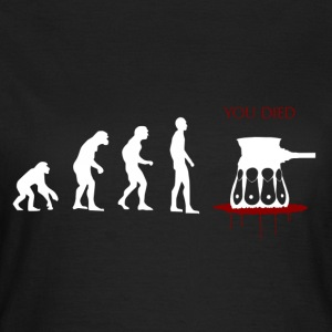Evolved ... Ups - Dame-T-shirt