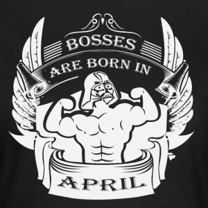 Bosses föds i april - T-shirt dam