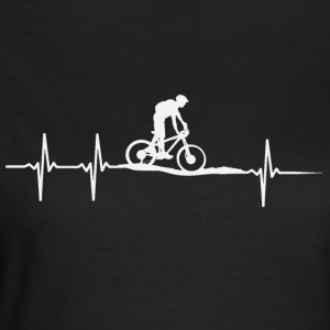Bicycle heartbeat - Women's T-Shirt