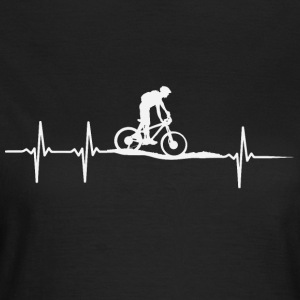 Bicycle hartslag - Vrouwen T-shirt