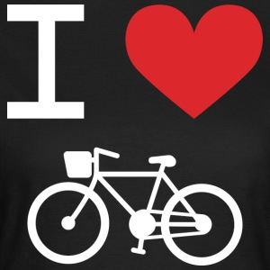 I love Bike - Frauen T-Shirt