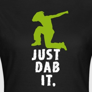 dab green man dabbing touchdown Football fun cool - Women's T-Shirt