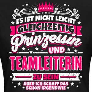 Princess and team leader - Women's T-Shirt